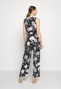 JDY - JDYSTARR LIFE  - Jumpsuit - black/rose of sharon flower - 2