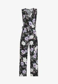 JDY - JDYSTARR LIFE  - Jumpsuit - black/rose of sharon flower - 3