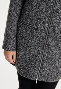 JDY - JDYBESTY ZIP JACKET - Krátký kabát - dark grey melange - 3