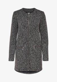 JDY - JDYBESTY ZIP JACKET - Krátký kabát - dark grey melange - 4