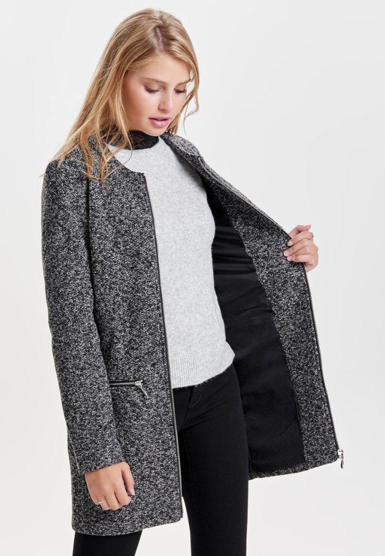 JDY - JDYBESTY ZIP JACKET - Krátký kabát - dark grey melange