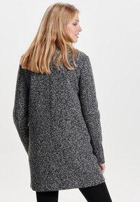 JDY - JDYBESTY ZIP JACKET - Krátký kabát - dark grey melange - 2