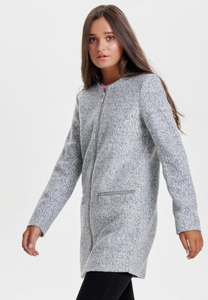 Pitkä takki - light grey melange