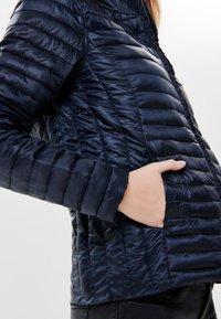 JDY - JDYMADDY PLAIN - Lehká bunda - mottled dark grey - 4