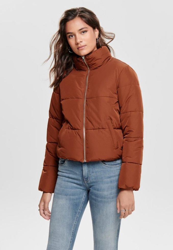 JDY - Winter jacket - brown
