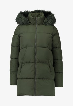 JDYELMA PADDED HOOD - Winter coat - forest night