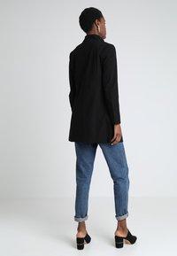 JDY - JDYHANA COAT - Halflange jas - black - 2