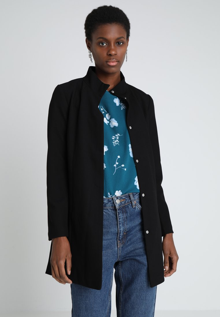 JDY - JDYHANA COAT - Halflange jas - black