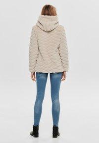JDY - Winter jacket - beige - 2