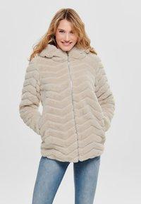 JDY - Winter jacket - beige - 0