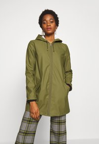 JDY - JDYKENDRA RAINCOAT - Parka - winter moss - 0