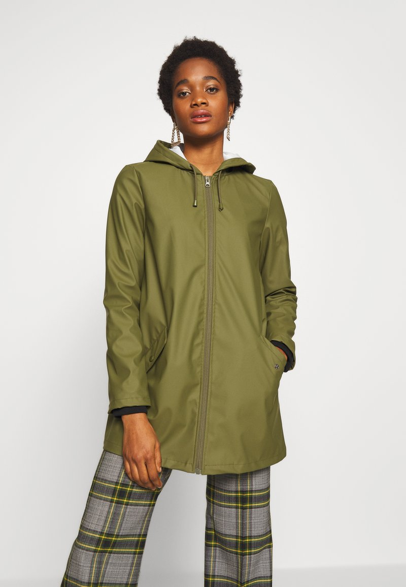 JDY - JDYKENDRA RAINCOAT - Parka - winter moss