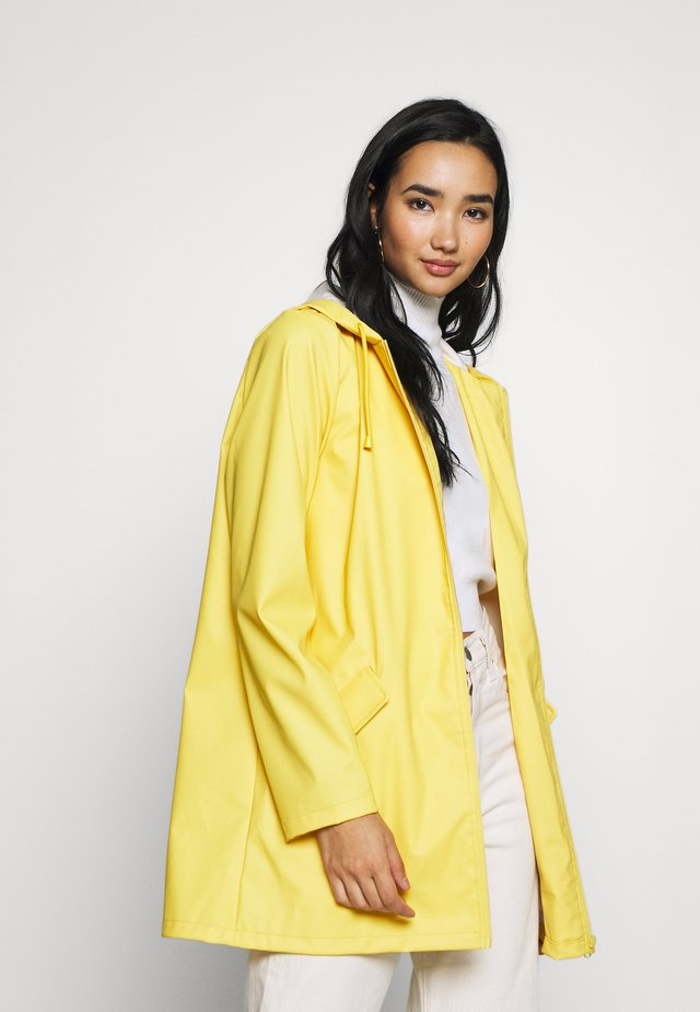 JDYKENDRA RAINCOAT - Parka - misted yellow