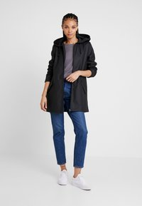 JDY - JDYKENDRA RAINCOAT - Parkaer - black - 1