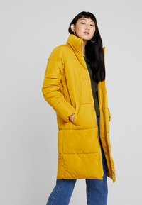 JDY - Classic coat - harvest gold - 0