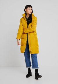 JDY - Classic coat - harvest gold - 1