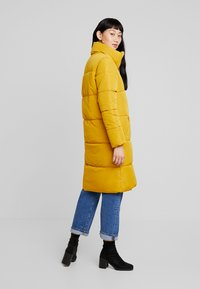 JDY - Classic coat - harvest gold - 2