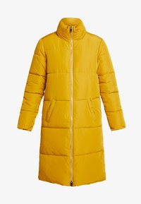 JDY - Classic coat - harvest gold - 4