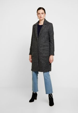 JDYLELA - Classic coat - dark grey melange