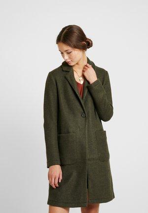JDYLELA - Płaszcz wełniany /Płaszcz klasyczny - ivy green/black melange