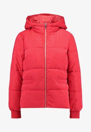 Płaszcz wełniany /Płaszcz klasyczny - chinese red