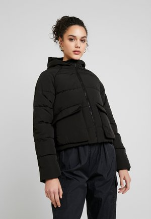 JDYNALA PADDED HOOD JACKET - Light jacket - black