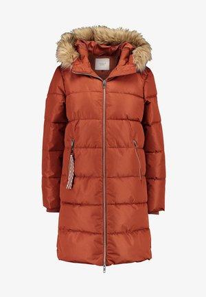 Zimní kabát - smoked