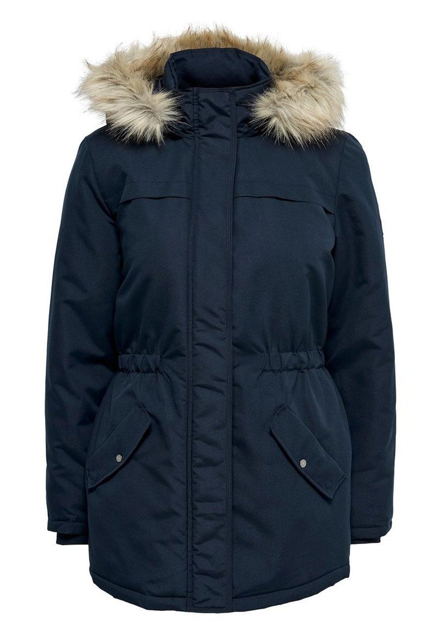 JDY Płaszcz zimowy - green