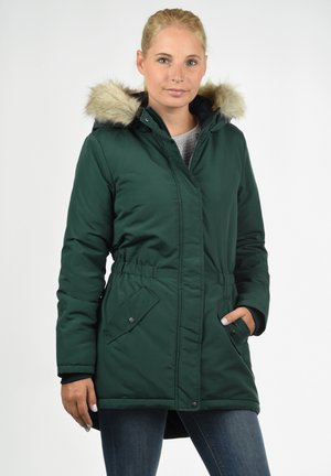 PAOLA - Winter coat - dark green