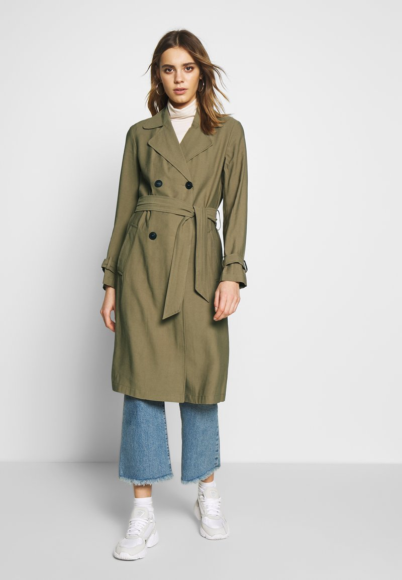 JDY - JDYARYA - Trench - lead gray