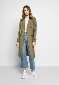 JDY - JDYARYA - Trench - lead gray - 1