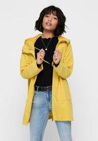 JDY - JDYORVILLE SHINE LONG - Parka - misted yellow - 0