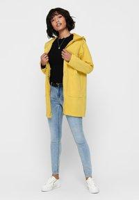 JDY - JDYORVILLE SHINE LONG - Parka - misted yellow - 1