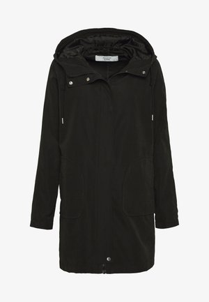 JDYORVILLE SHINE LONG - Parka - black