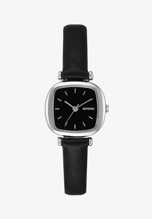 Watch - black/silver-coloured