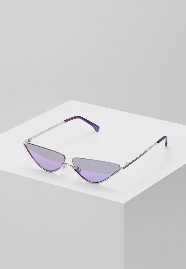 ASH - Solglasögon - silver-coloured/lilac