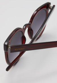 Komono - LULU - Sluneční brýle - burgundy - 2