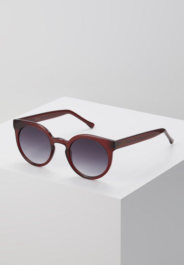 LULU - Okulary przeciwsłoneczne - burgundy