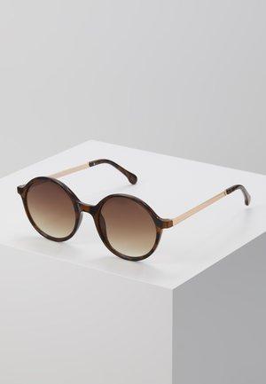MADISON  - Okulary przeciwsłoneczne - tortoise/rose gold-coloured