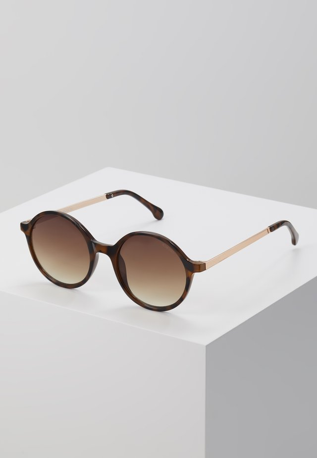MADISON  - Zonnebril - tortoise/rose gold-coloured