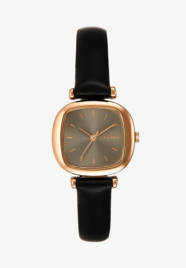 MONEYPENNY - Watch - black/rose