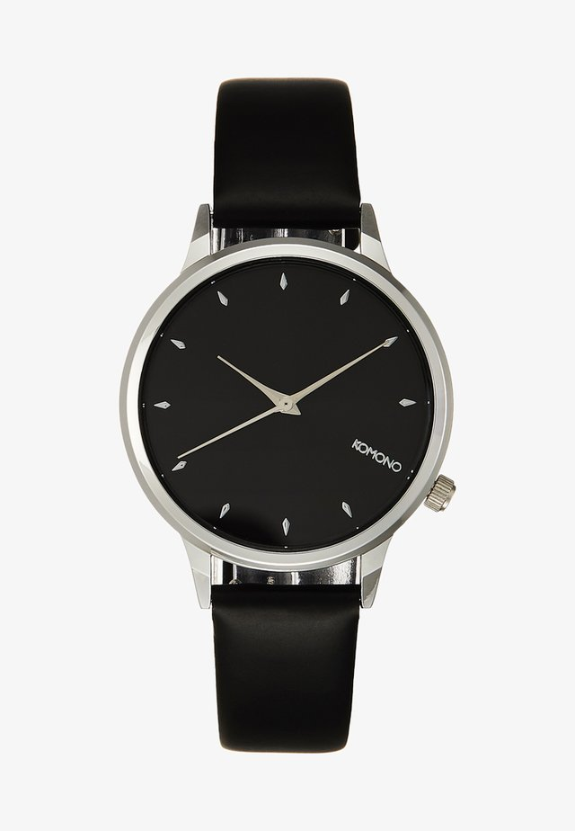 LEXI - Horloge - black/silver-coloured