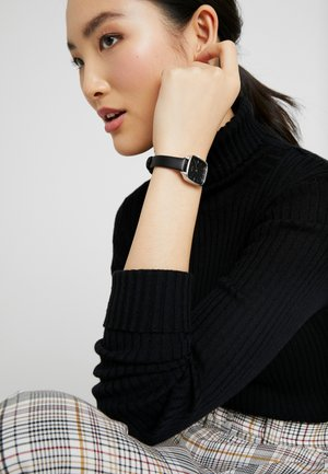 KATE - Montre - black/silver-coloured