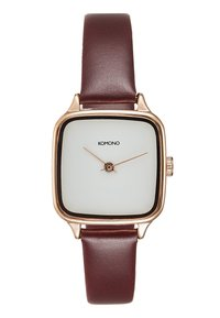 Komono - KATE - Watch - rose gold/auburn - 0