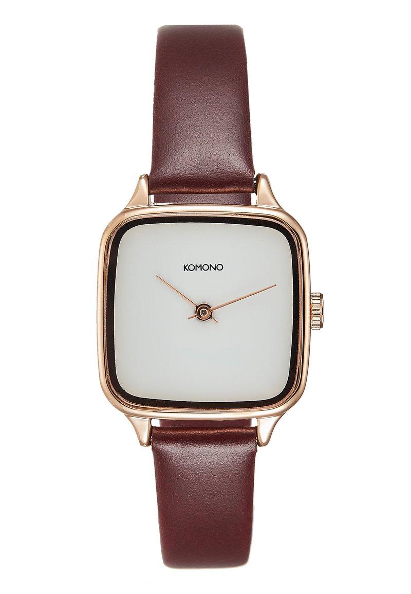 Komono - KATE - Watch - rose gold/auburn