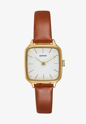 KATE - Montre - gold-coloured/tan