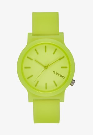 MONO - Montre - neon yellow