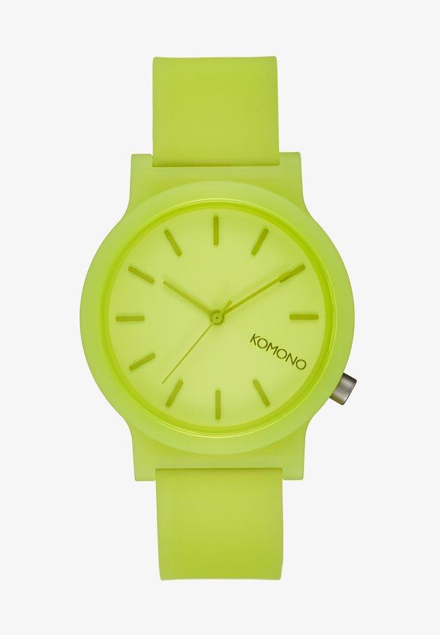 MONO - Zegarek - neon yellow