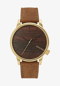 gold-coloured/wood
