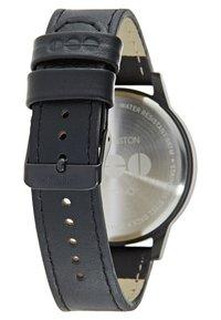 Komono - WINSTON - Horloge - black wood - 2
